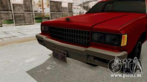 Chevrolet Caprice Classic 1986 v2.0 für GTA San Andreas Seitenansicht