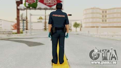 GTA 5 Paramedic LV pour GTA San Andreas troisième écran