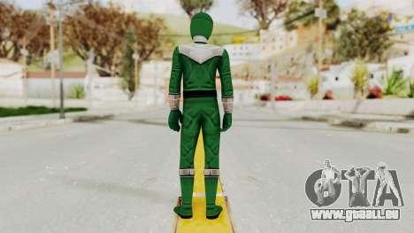 Power Rangers Time Force - Green pour GTA San Andreas troisième écran