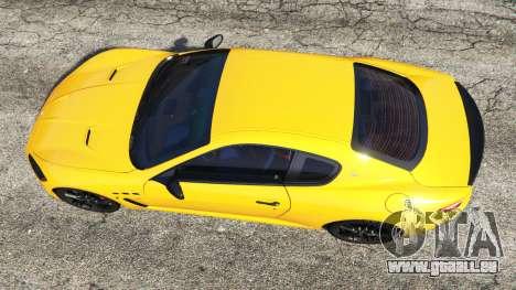 Maserati GranTurismo MC Stradale pour GTA 5