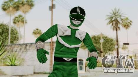 Power Rangers Time Force - Green für GTA San Andreas