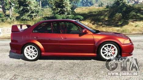 Mitsubishi Lancer GSR Evolution VI 1999 pour GTA 5