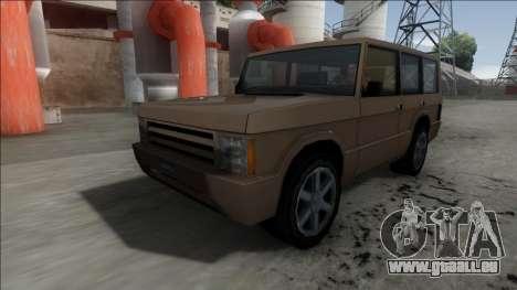 New Huntley pour GTA San Andreas