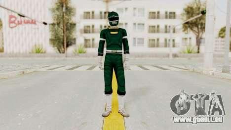 Power Rangers Turbo - Green pour GTA San Andreas deuxième écran