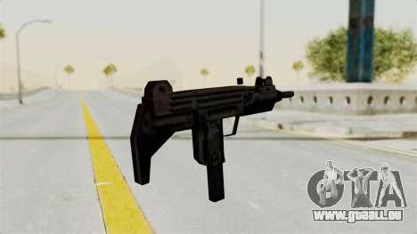 Liberty City Stories Uzi für GTA San Andreas dritten Screenshot