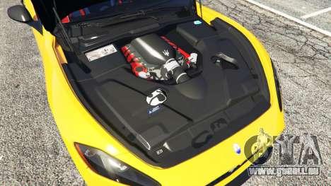 Maserati GranTurismo MC Stradale für GTA 5