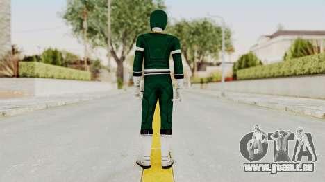 Power Rangers Turbo - Green pour GTA San Andreas troisième écran