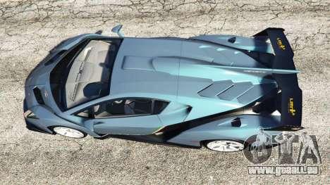 GTA 5 Lamborghini Veneno 2013 vue arrière