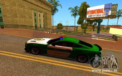 Ford Mustang Iranian Police pour GTA San Andreas laissé vue