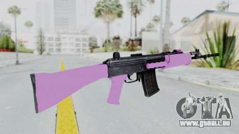 IOFB INSAS Light Pink für GTA San Andreas zweiten Screenshot