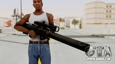 VKS Sniper Rifle pour GTA San Andreas troisième écran