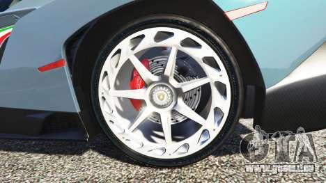 GTA 5 Lamborghini Veneno 2013 avant droite vue de côté