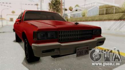 Chevrolet Caprice Classic 1986 v2.0 für GTA San Andreas