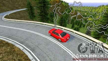 Kagarasan Piste pour GTA 4