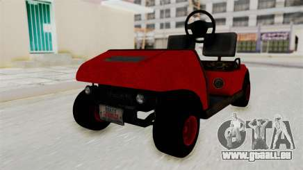 GTA 5 Gambler Caddy Golf Cart für GTA San Andreas