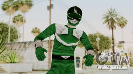 Power Rangers Time Force - Green pour GTA San Andreas