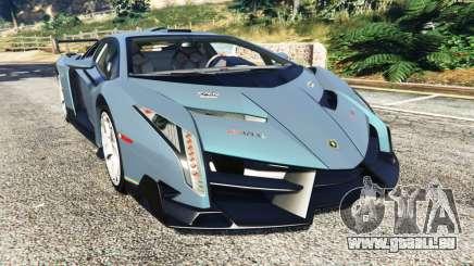 Lamborghini Veneno 2013 pour GTA 5