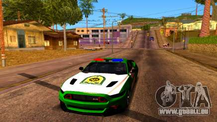 Ford Mustang Iranian Police für GTA San Andreas