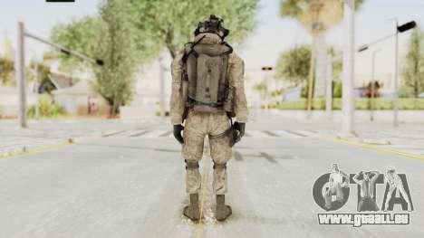 COD MW2 Shadow Company Soldier 2 pour GTA San Andreas troisième écran