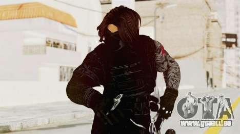 Captain America Civil War - Winter Soldier für GTA San Andreas