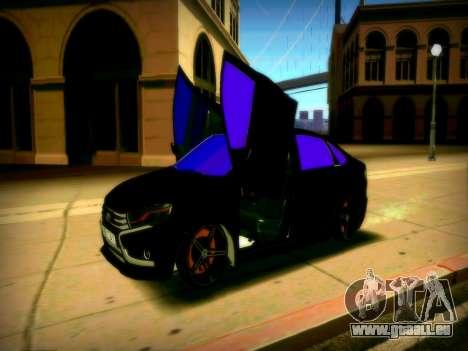 Lada Vesta Lambo pour GTA San Andreas sur la vue arrière gauche