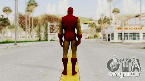 Marvel Heroes - Iron Man Classic pour GTA San Andreas troisième écran