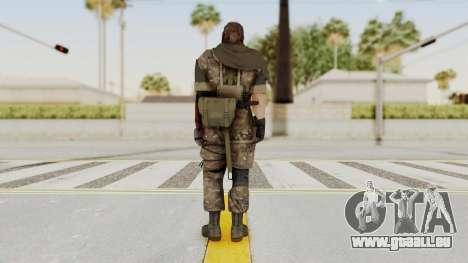 MGSV The Phantom Pain Venom Snake Sc No Patch v9 pour GTA San Andreas troisième écran