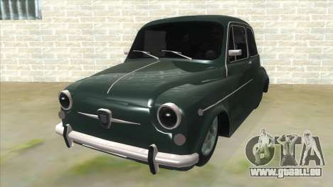Fiat 600 für GTA San Andreas