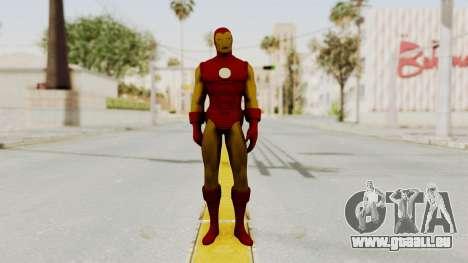 Marvel Heroes - Iron Man Classic pour GTA San Andreas deuxième écran