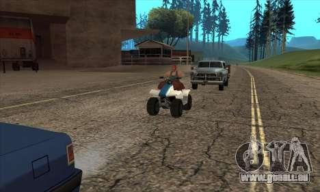 Mise à jour de la circulation pour GTA San Andreas deuxième écran