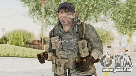 COD BO USA Soldier Ubase pour GTA San Andreas