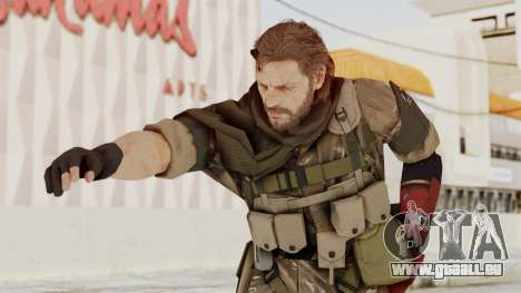 MGSV The Phantom Pain Venom Snake Sc No Patch v9 für GTA San Andreas