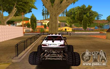 Peugeot Persia Full Sport Monster für GTA San Andreas zurück linke Ansicht