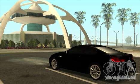 BMW M6 F13 Coupe pour GTA San Andreas vue de côté