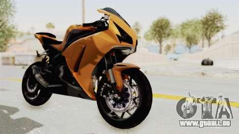 Honda CBR1000RR High Modif für GTA San Andreas
