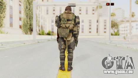 MGSV Phantom Pain Venom Snake Battle Dress pour GTA San Andreas troisième écran