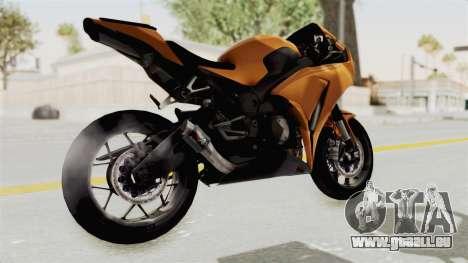 Honda CBR1000RR High Modif für GTA San Andreas rechten Ansicht