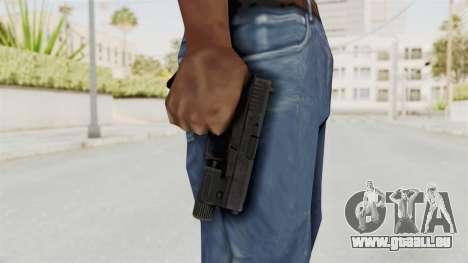 Glock 19 Gen4 Flashlight für GTA San Andreas