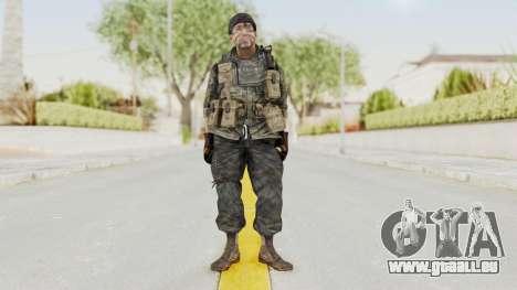 COD BO USA Soldier Ubase für GTA San Andreas zweiten Screenshot