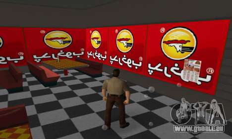Pizza Shop Iranian V2 für GTA Vice City Screenshot her
