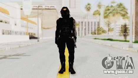 Captain America Civil War - Winter Soldier für GTA San Andreas zweiten Screenshot