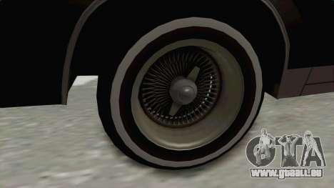 Buick Regal 1986 für GTA San Andreas Rückansicht