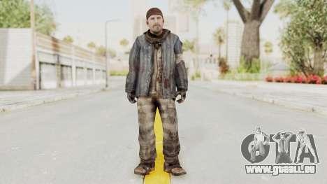 COD BO Reznov Vorkuta pour GTA San Andreas deuxième écran
