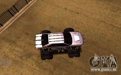 Peugeot Persia Full Sport Monster pour GTA San Andreas vue de droite
