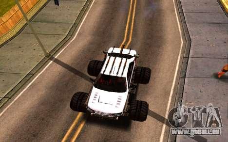 Peugeot Persia Full Sport Monster pour GTA San Andreas vue arrière