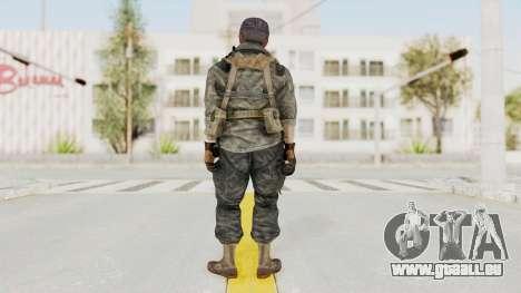 COD BO USA Soldier Ubase für GTA San Andreas dritten Screenshot