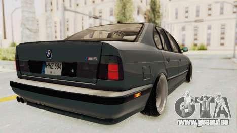 BMW M5 E34 USA für GTA San Andreas linke Ansicht
