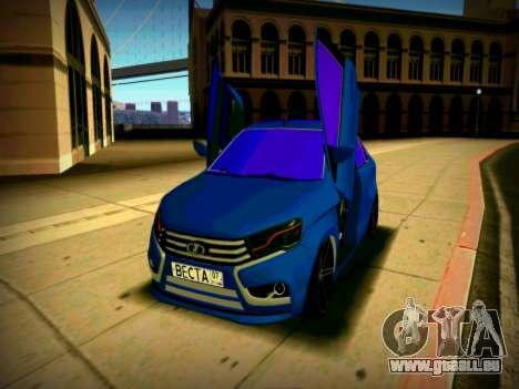 Lada Vesta Lambo pour GTA San Andreas