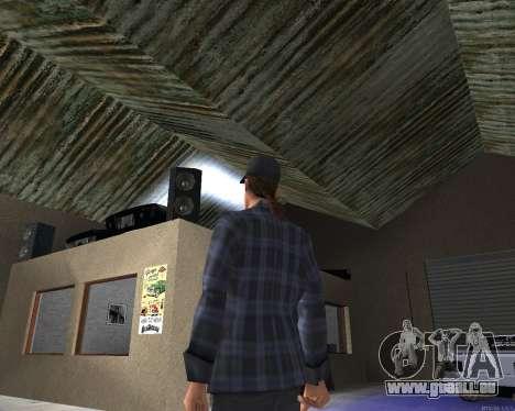 L'intérieur de la STO San Fierro v2.0 pour GTA San Andreas deuxième écran