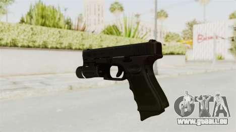 Glock 19 Gen4 Flashlight für GTA San Andreas dritten Screenshot